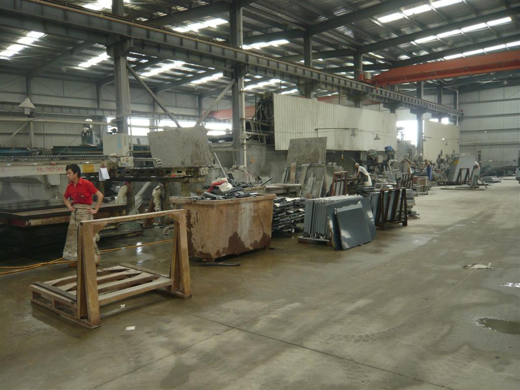 The factory which can produce slabs,tiles,big slabs ,countertops as customer's requirement!!
