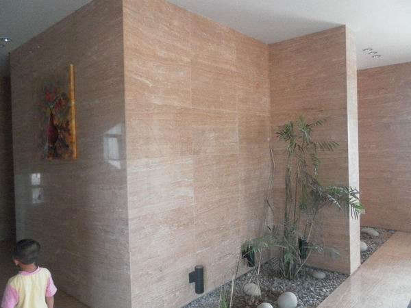 Cream Yellow Travertine